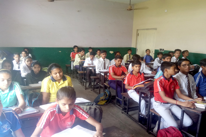 Karhana Senior Secondary School-Classroom