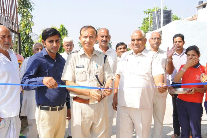 Karhana Senior Secondary School-Inauguration