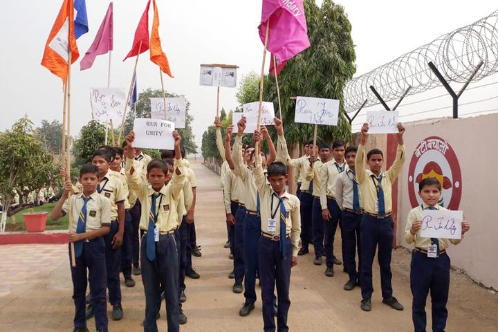 Karhana Senior Secondary School-Rally