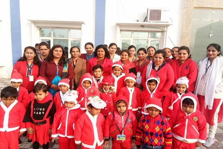 Karnal international school-Christmas Celebrations