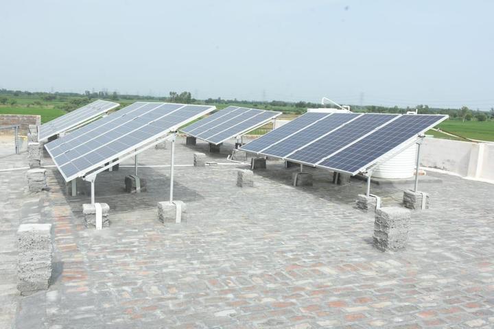 Kastoori Devi Memorial Public School-Solar System at School