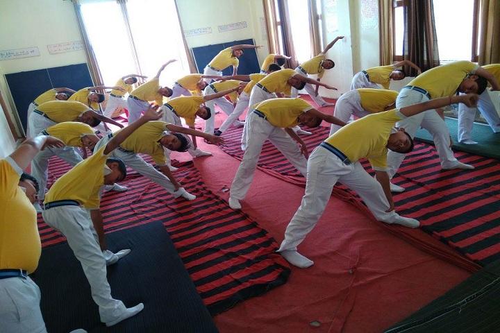 Kastoori Devi Memorial Public School-Yoga Classes