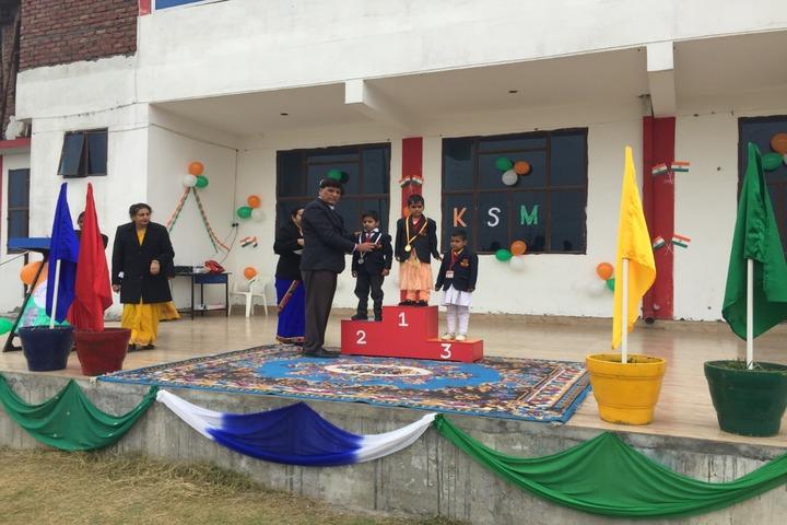 Katar Singh Memorial Public School-Sports Champions
