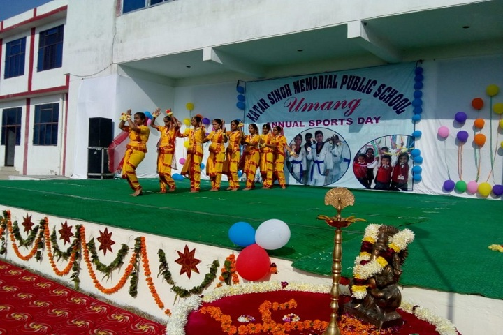 Katar Singh Memorial Public School-Sports day