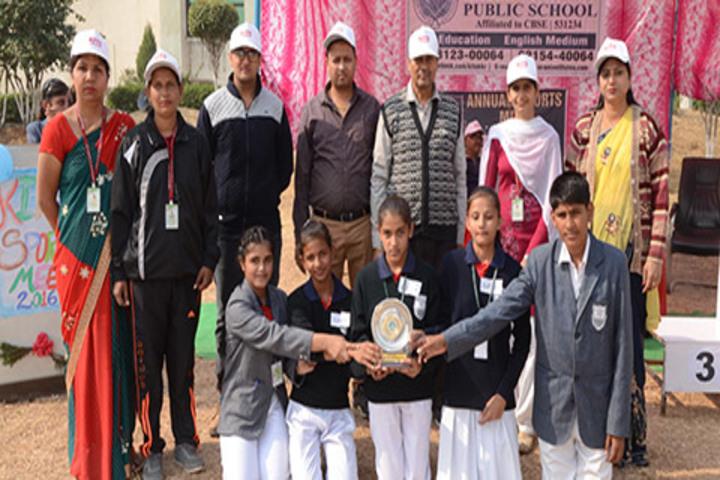 Kite International Public School-Award