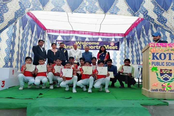 Kota Public School-Certification