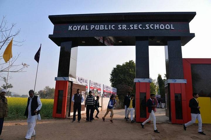 Koyal Public Senior Secondary School-Entrance-Campus