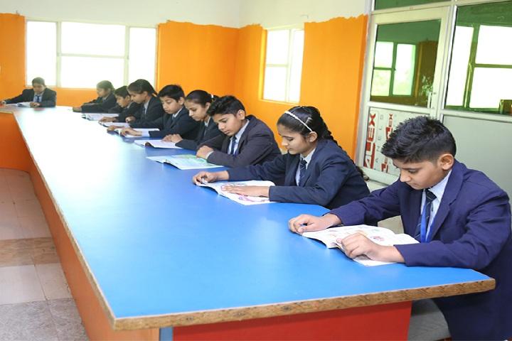 Koyal Public Senior Secondary School-Library