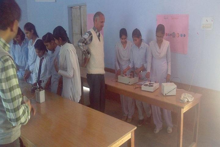 Krishna Public High School-Electronics Lab