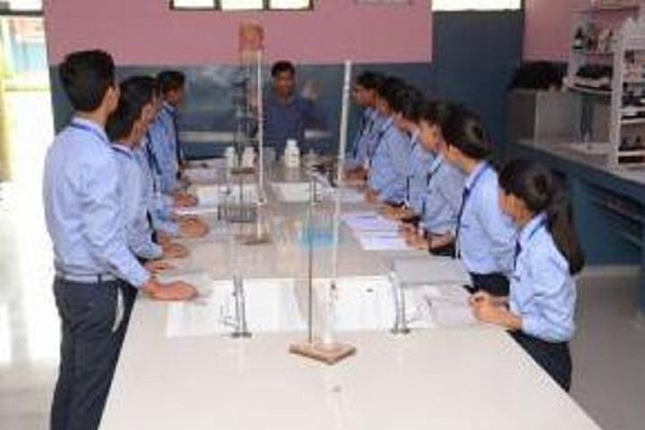 Krishna Public School-Chemistry Lab