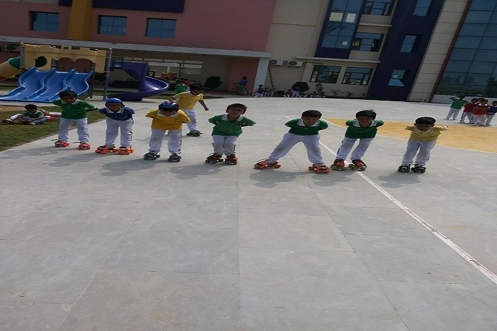 Landmark International School-Games