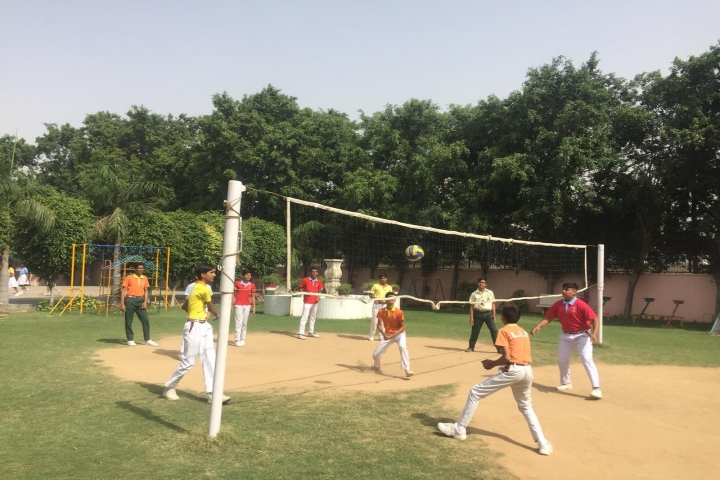 Sports View of Laxmi International School Manesar