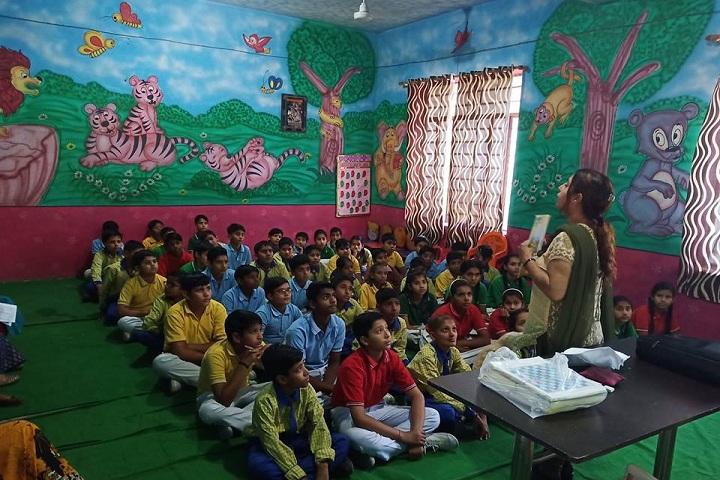 Laxmi Senior Secondary School-ClassRoom
