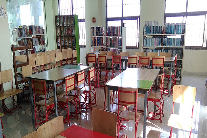 Maharishi Markandeshwar International School-Library