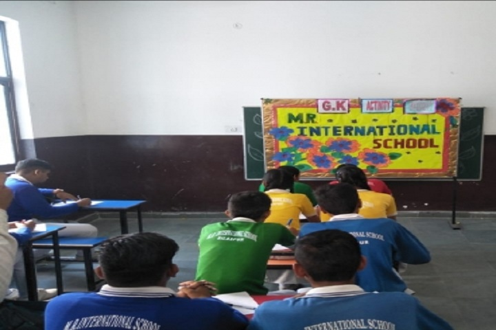 MR International School-Class