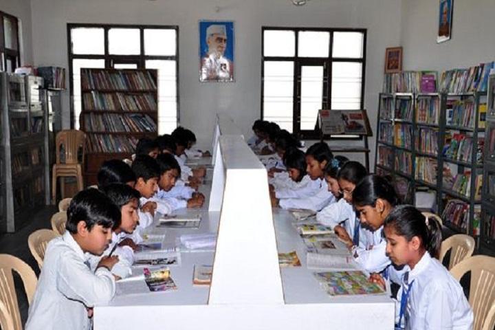 Maharaja Aggarsain Public School-Library
