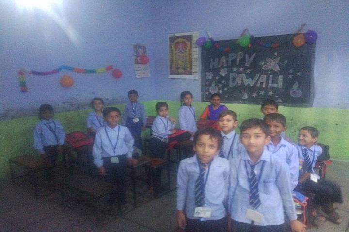 Maharaja Aggarsain Senior Secondary Public School-Classroom