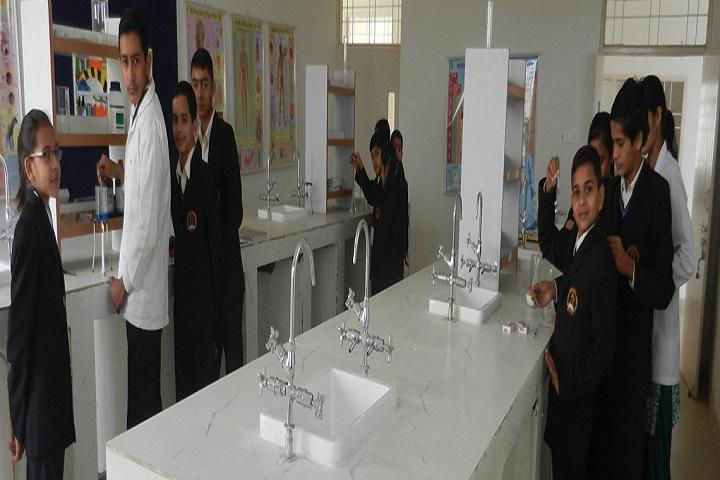 Maharani Lakshmi Bai Trilok Chand School-ChemistryLab