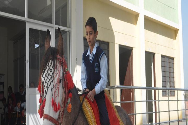 Maharani Lakshmi Bai Trilok Chand School-Raiding
