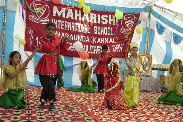 Maharishi International Public School-Dance