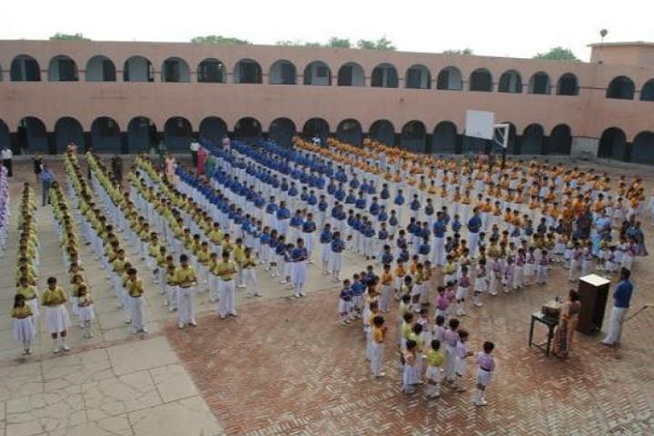 Malviya Shiksha Sadan-Ground