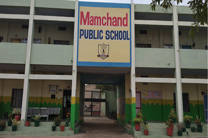 Mamchand Public School-Front View Campus
