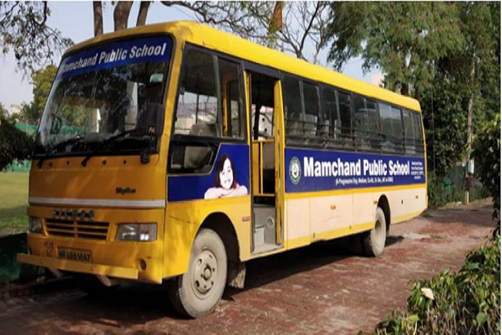 Mamchand Public School-Transport
