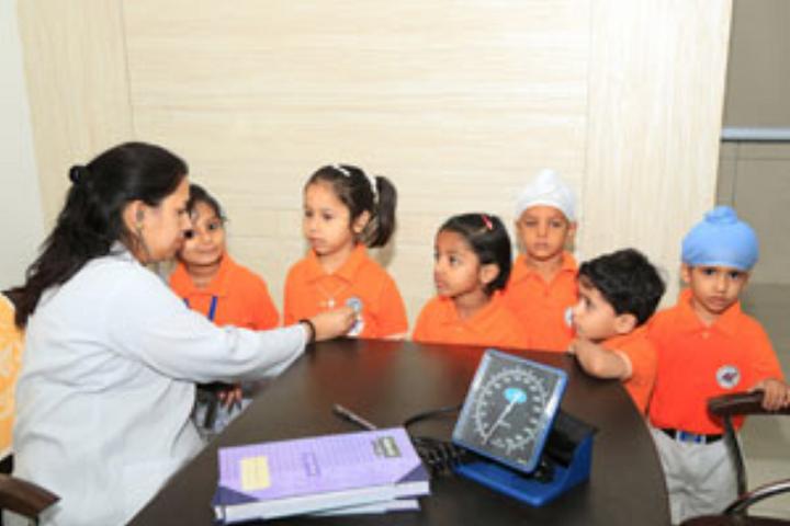 Manav Mangal School-Health Checkup