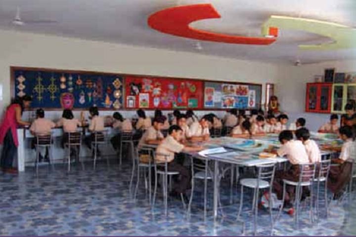 Manav Mangal School-Library