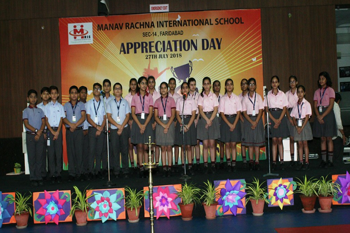 Manav Rachana International School-Appreciation Day