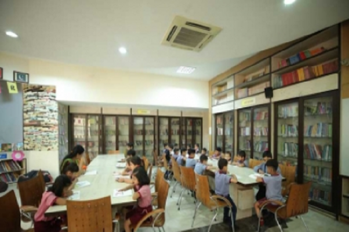 Manav Rachana International School-Library