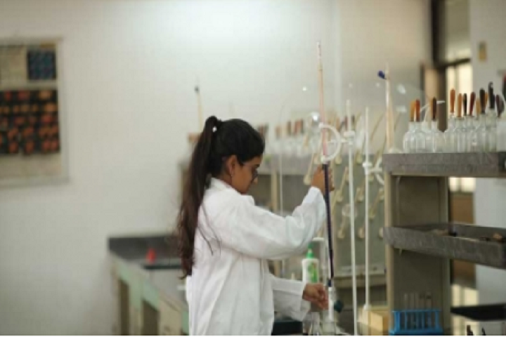 Manav Rachana International School-Science Lab