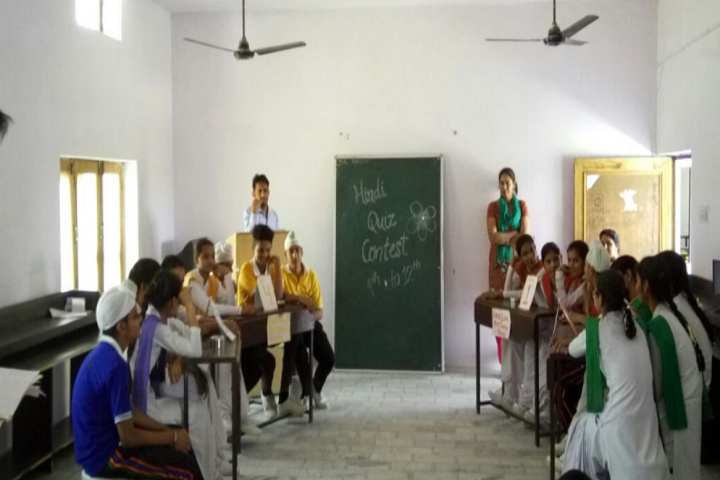 Mata Gujri High School-Quiz Contest