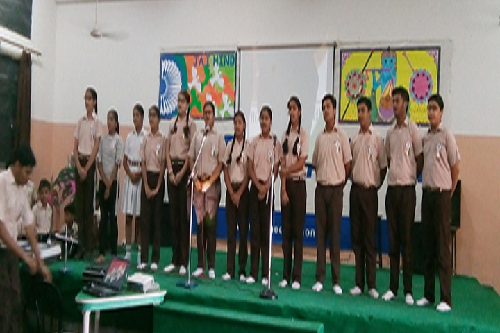 Modern Vidya Niketan School-Singing
