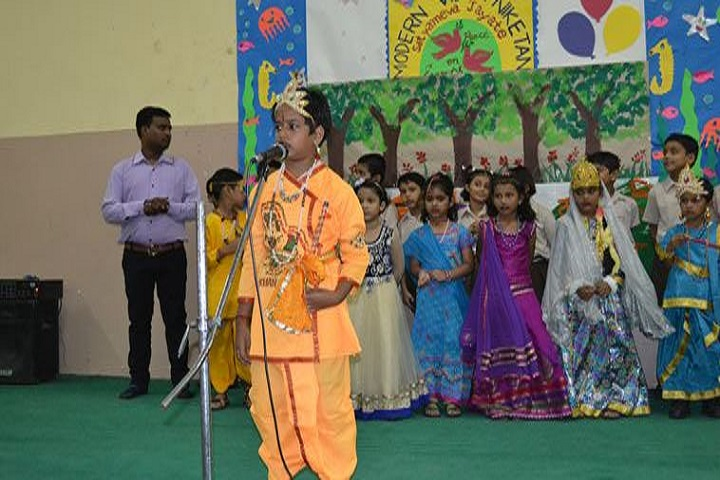 Modern Vidya Niketan School-Festival