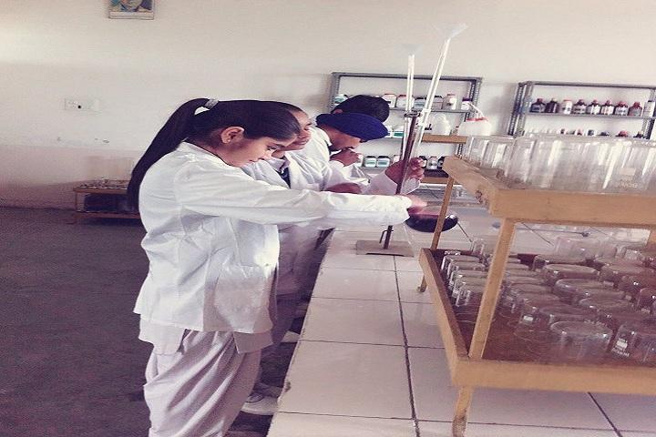 Mother Teresa Modern Public School-Labs