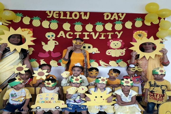 Mother Teresa Modern Public School-Yellow Day