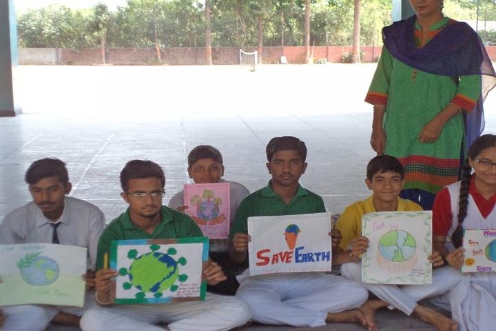 Moti Ram Arya Modern Public School-Earth Day Celebrations