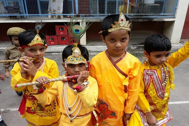 Moti Ram Arya Modern Public School-Krishnastami Celebrations
