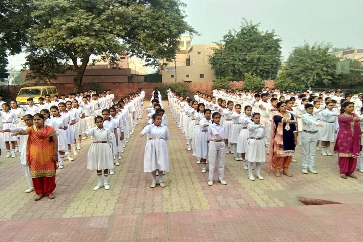 Motilal Nehru Public School-Assembly