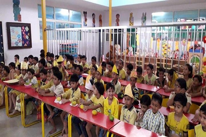 Motilal Nehru Public School-Yellow Day