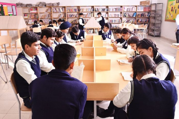 Mount Litera Zee School-Library