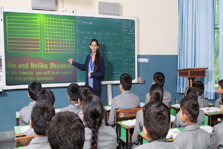 Nalanda International School-Classroom