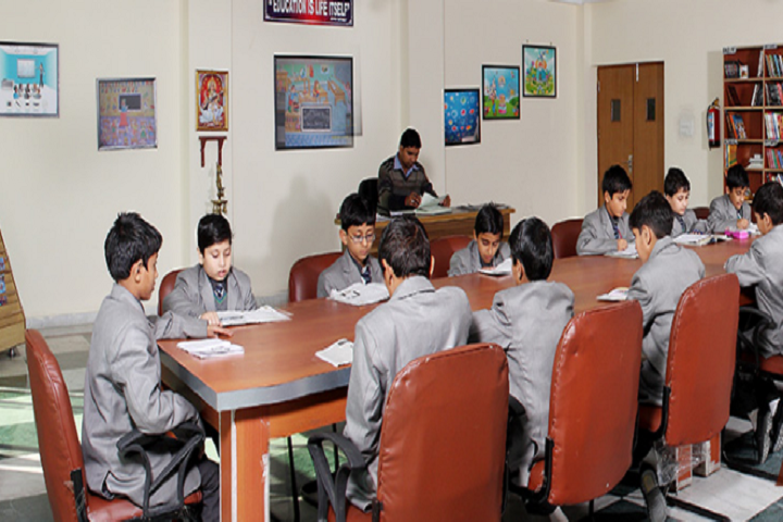 Nalanda International School-Library