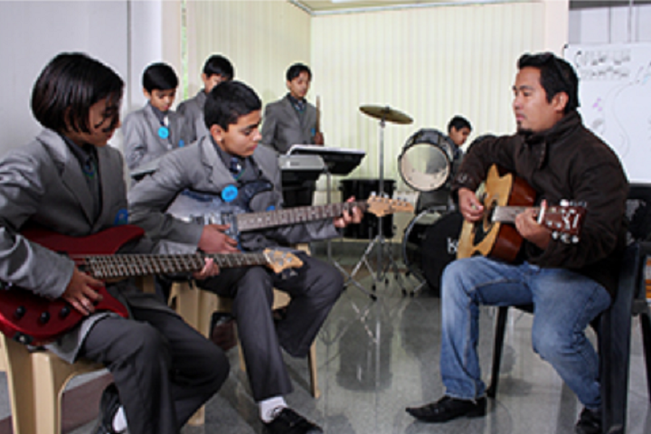 Nalanda International School-Music Room