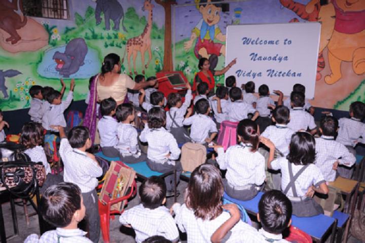 Navodya Vidya Niketan Senior Secondary School-Classroom