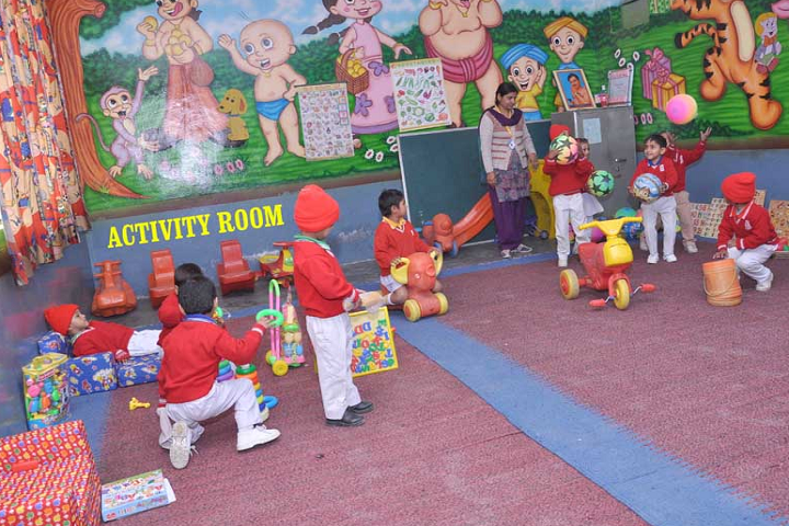 Navyug Senior Secondary School-Activity Room