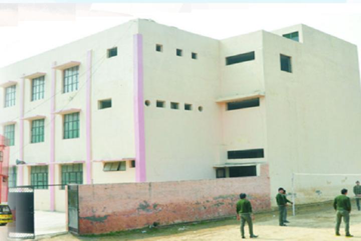 Navyug Senior Secondary School-Campus-Side View