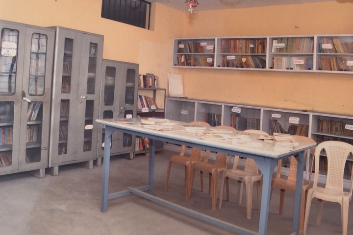 Navyug Senior Secondary School-Library
