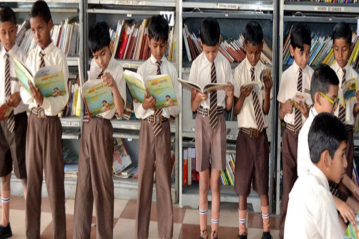New Happy Public School-Library